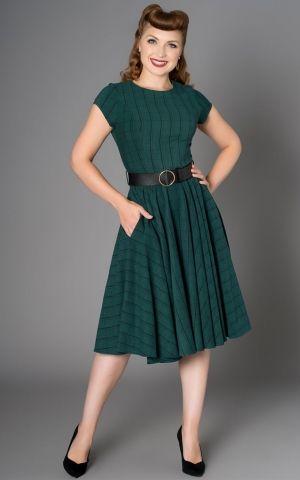50er jahre mode abendkleid