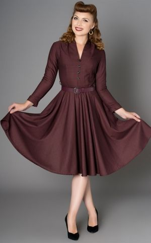 Sheen Clothing Fall Dress Helena