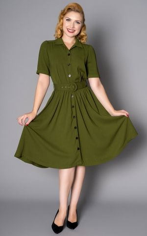 Sheen Clothing Dress Queenie, green