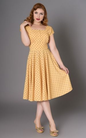 Sheen Clothing Polkadot Dress Zafira