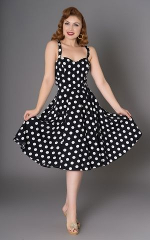 Sheen Clothing Polkadot Kleid Elizabeth