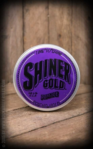 Shiner Gold Psycho Super Hold Pomade