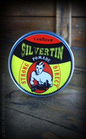 Pomade Silvertin Grease Strong Direct!