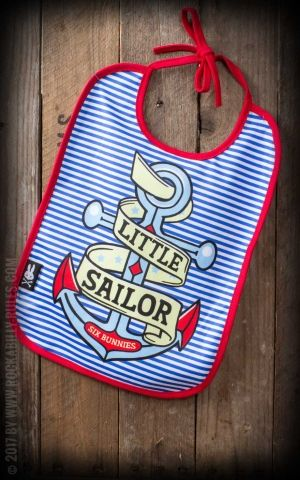 Six Bunnies - Bib Little Sailor