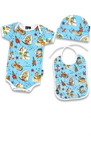 Six Bunnies Coffret cadeau bébé Aloha Sailor Hawaii