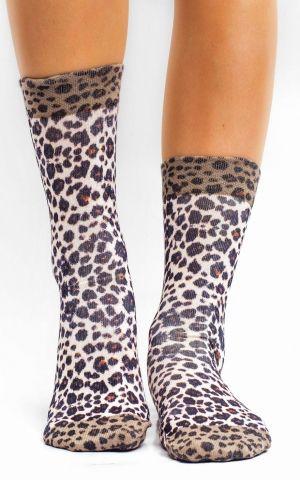 Chaussettes pour Femmes Wild Leo