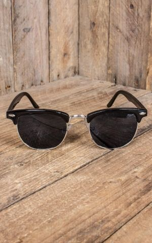 Revive Eyewear - Sunglasses Clubmaster black