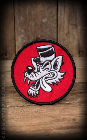 Sourpuss Patch - Big Bad Wolf