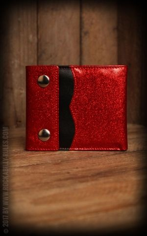 Sourpuss - Wallet Sabrina Glitter