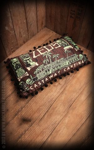 Sourpuss - Pillow Tiki Castaway Cantina