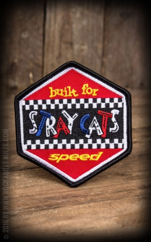 Sourpuss Patch - Stray Cats Built for speed