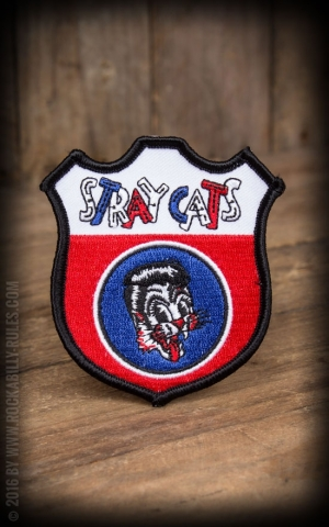 Sourpuss Aufnäher - Stray Cats Emblem