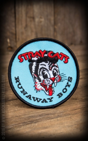 Sourpuss Aufnäher - Stray Cats Runaway Boys