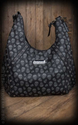 Sourpuss Hobo Purse - Lust for Skulls