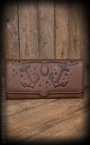 Sourpuss Clothing Triumph Wallet - Anchor