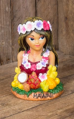 Money Bank Hula Girl