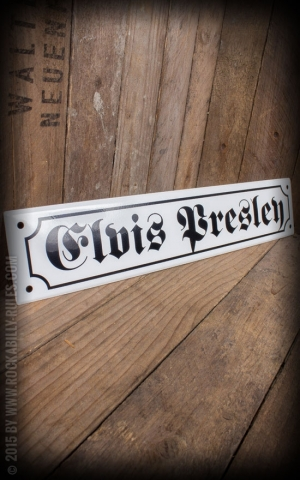 Street sign with Email coated - Elvis Presley