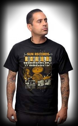 Steady T-Shirt - Sun Records Weekender