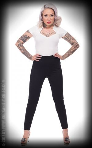 Steady Audrey Cigarette Pantalons | Leggings