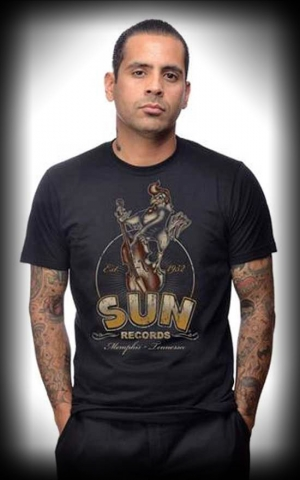 Steady T-Shirt - Roosterbilly Sun Records