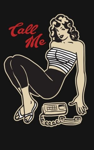 Steady T-Shirt Femmes - Call Me