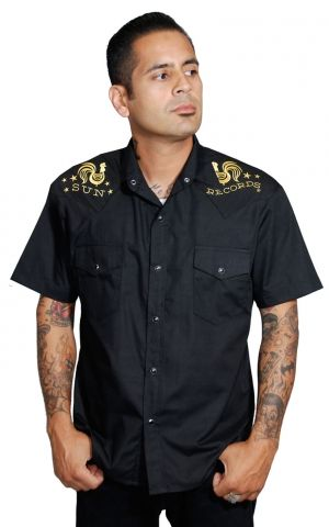 Steady Western Shirt - Sun Records Rooster Crow
