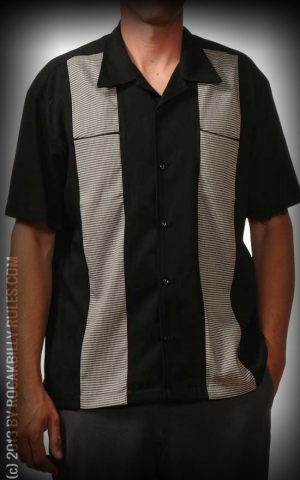 Steady Shirt - Houndstooth Panel