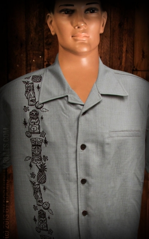 Steady Shirt - Tiki Oasis Button Up