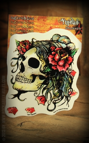 Sticker - Rose Skull