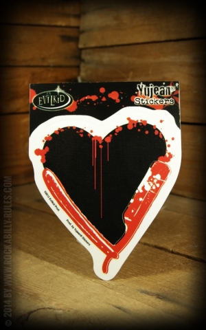 Sticker - Razor Heart