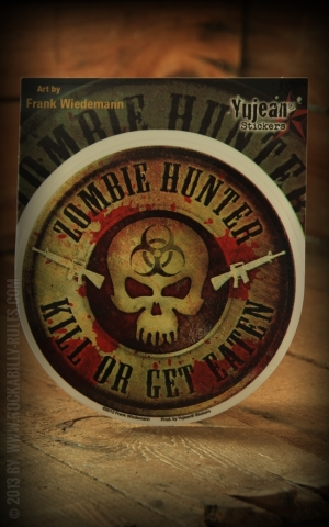 Sticker - Zombie Hunter