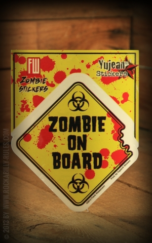 Sticker - Zombie on Board