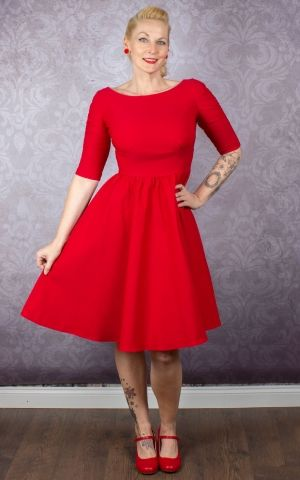 Stop Staring Robe - Lady in Red