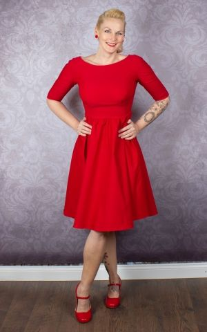 Stop Staring Kleid - Lady in Red