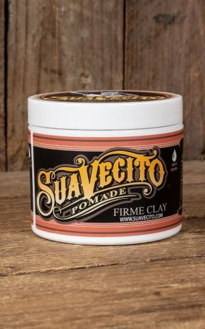 Suavecito Pomade Clay, firme hold