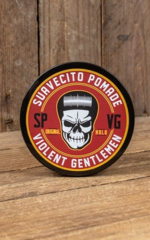 Suavecito x Violent Gentleman Pomade, original hold