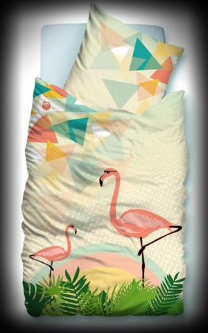 Suenos Bedclothing Flamingo 2.0, digital print