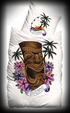 Suenos Bedclothing Hawaiian Tiki