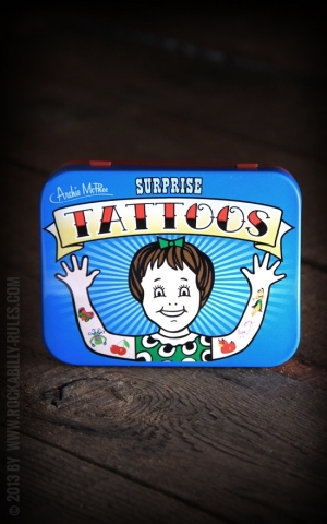 �berraschungs- Tattoos