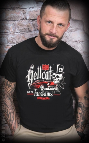 T-Shirt Hotrod Hellcat Kustoms