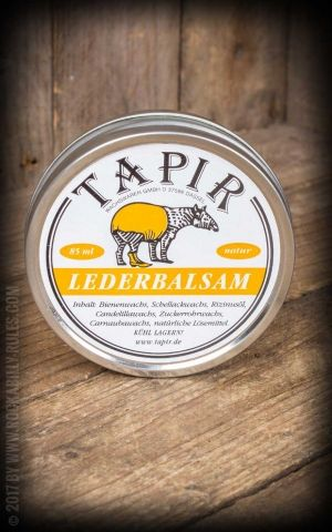 Tapir - Leather balm nature, 85ml