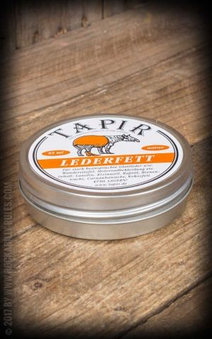 Tapir - Lederfett farblos