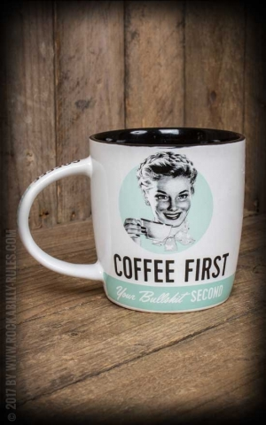 Retro Tasse Coffee First