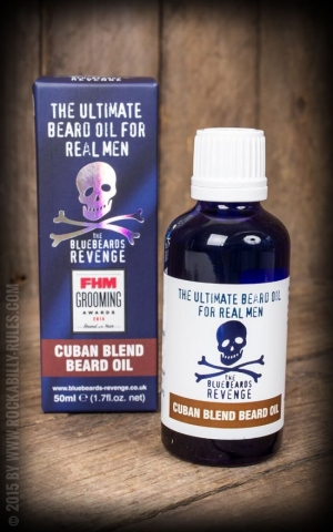 The Bluebeards Revenge Beard Oil Cuban Blend, 50ml