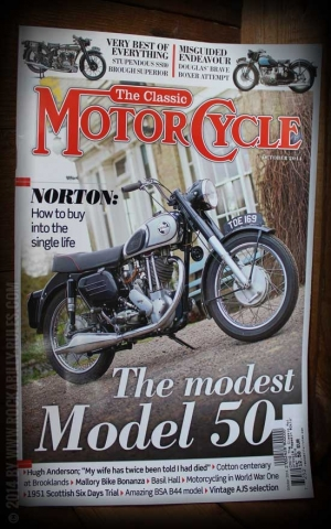 The Classic Motorcycle Magazin #Oktober 2014
