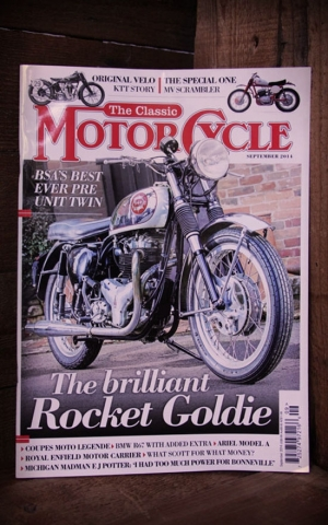 The Classic Motorcycle Magazin #September 2014