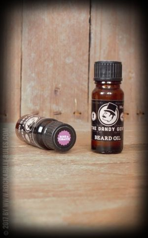 The Dandy Gent - Huile à Barbe Rose & Tobacco
