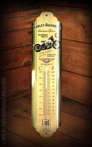 Thermometer Harley-Davidson Knucklehead