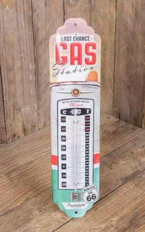 Thermometer US Highways - Route 66 Gas Station