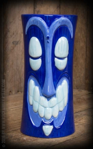 Tiki Becher - Hula Ka-Boola, blau
